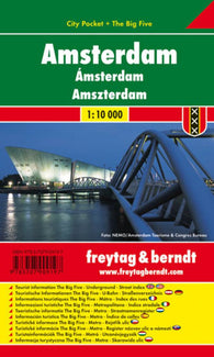 Buy map Amsterdam, City Pocket Map by Freytag-Berndt und Artaria