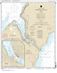 Buy map Sturgeon Bay and Canal; Sturgeon Bay (14919-28) by NOAA