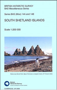 Buy map South Shetland Islands by British Antarctic Survey
