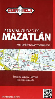 Buy map Mazatlan, Mexico by Guia Roji