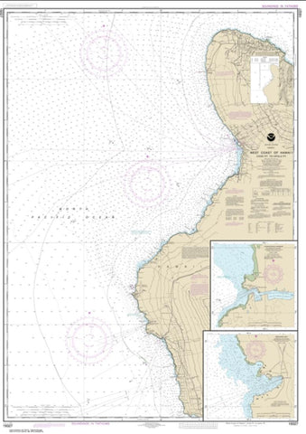 Buy map West Coast of Hawai'i Cook Point to Upolu Point; Keauhou Bay; Honokohau Harbor (19327-11) by NOAA