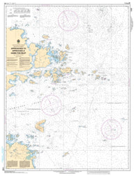 Buy map Approaches to Hamilton Inlet, Tumbledown Dick Island to Quaker Hat by Canadian Hydrographic Service