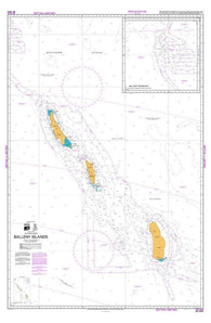 Buy map BALLENY ISLANDS (14912) by Land Information New Zealand (LINZ)