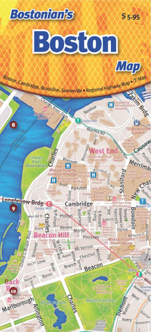 Buy map Boston, Massachusetts by Opus Publishing