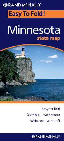 Buy map Minnesota, Easy to Fold by Rand McNally