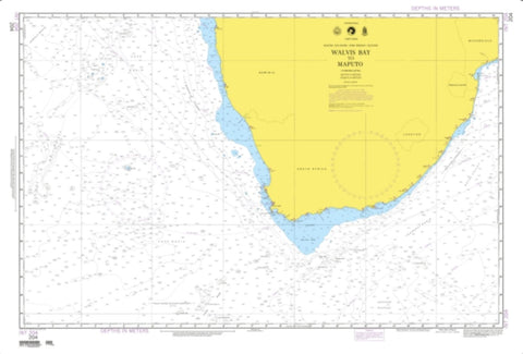 Buy map Walvis Bay To Maputo (NGA-204-4) by National Geospatial-Intelligence Agency