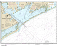 Buy map Matagorda Bay and approaches (11316-42) by NOAA