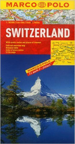 Buy map Switzerland by Marco Polo Travel Publishing Ltd