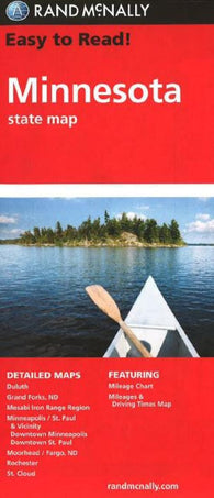 Buy map Minnesota by Rand McNally