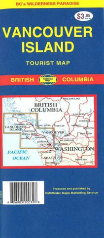 Buy map Vancouver Island, Canada by GM Johnson