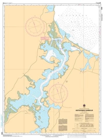 Buy map Antigonish Harbour by Canadian Hydrographic Service