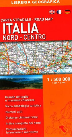 Buy map Italy, North-Central, Road Map by Libreria Geografica