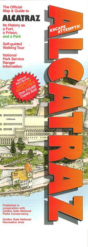 Buy map Alcatraz, California Map and Guide by Rufus Graphics
