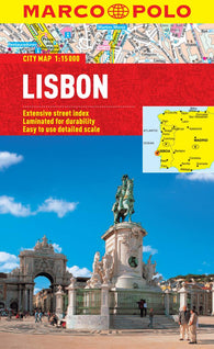 Buy map Lisbon, Portugal by Marco Polo Travel Publishing Ltd