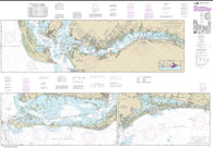 Buy map Intracoastal Waterway Fort Myers to Charlotte Harbor and Wiggins Pass (11427-35) by NOAA