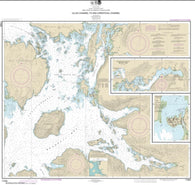 Buy map Ulloa Channel to San Christoval Channel; North Entrance, Big Salt Lake; Shelter Cove, Craig (17405-17) by NOAA