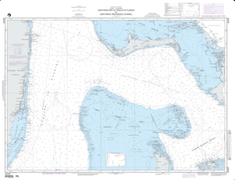 Buy map North Port Strait Of Florida And New Providence (NGA-26320-5) by National Geospatial-Intelligence Agency