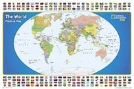 Buy map World for Kids, Poster-Sized, Boxed by National Geographic Maps