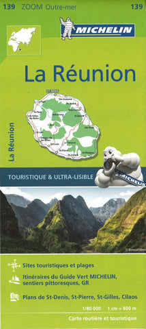Buy map La Reunion by Michelin Maps and Guides