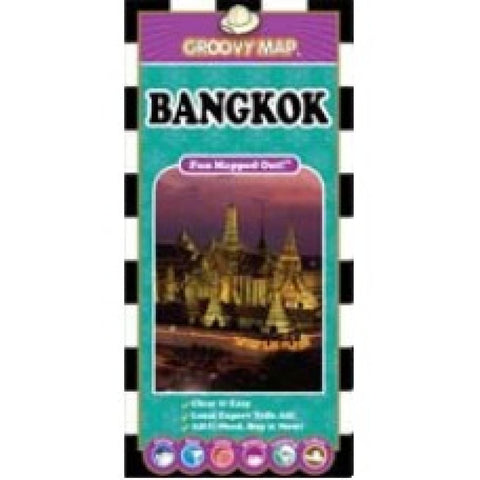 Buy map Bangkok, Thailand, Map n Guide by Groovy Map Co.