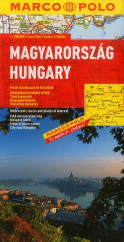 Buy map Hungary by Marco Polo Travel Publishing Ltd