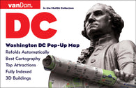 Buy map Washington, DC Pop-Up by VanDam