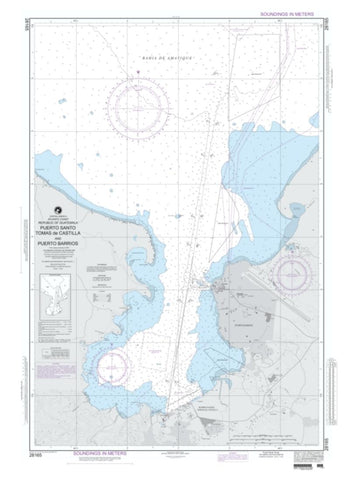 Buy map Puerto Santo Tomas De Castilla And Puerto Barrios (NGA-28165-21) by National Geospatial-Intelligence Agency