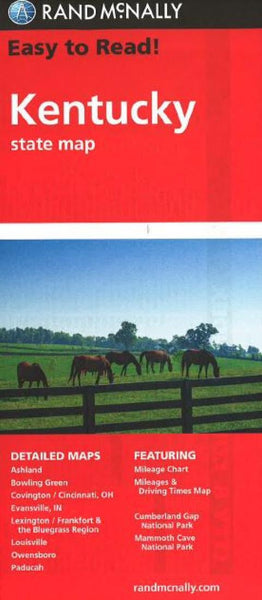 Buy map Kentucky by Rand McNally