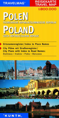 Buy map Poland and the Czech Republic by Kunth Verlag