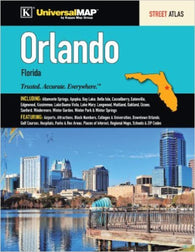 Buy map Orlando, Florida, Atlas by Kappa Map Group