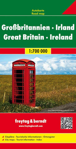 Buy map Great Britain and Ireland by Freytag-Berndt und Artaria