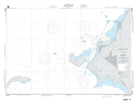 Buy map Kampong Saom (NGA-93283-5) by National Geospatial-Intelligence Agency