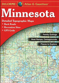 Buy map Minnesota Atlas and Gazetteer by DeLorme