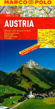 Buy map Austria by Marco Polo Travel Publishing Ltd