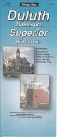 Buy map Duluth, Minnesota and Superior, Wisconsin by The Seeger Map Company Inc.