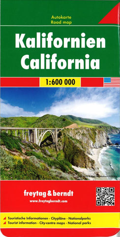 Buy map California by Freytag-Berndt und Artaria