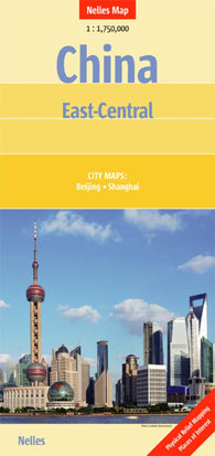 Buy map China, East-Central by Nelles Verlag GmbH
