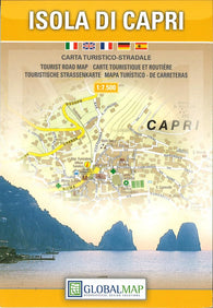 Buy map Capri, Island of by Litografia Artistica Cartografica