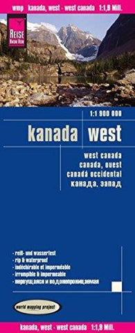 Buy map Canada, Western by Reise Know-How Verlag