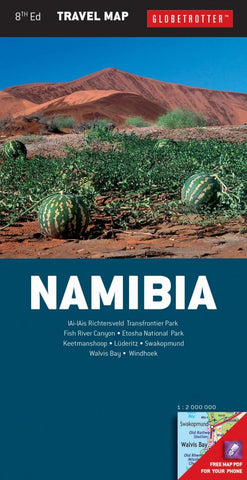 Buy map Namibia Travel Map by New Holland Publishers
