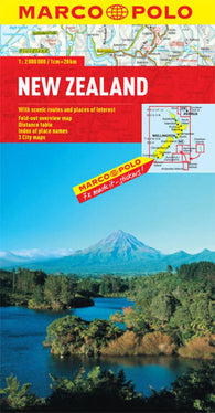 Buy map New Zealand by Marco Polo Travel Publishing Ltd