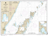 Buy map Upper Green Bay - Jackson Harbor and Detroit Harbor; Detroit Harbor; Jackson Harbor; Baileys Harbor (14909-20) by NOAA