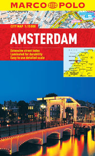Buy map Amsterdam, Netherlands by Marco Polo Travel Publishing Ltd
