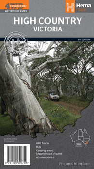 Buy map High Country Victoria, Australia by Hema Maps