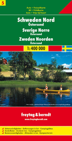 Buy map Sweden, North and Ostersund by Freytag-Berndt und Artaria