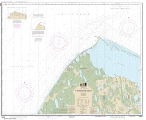 Buy map Pt. Barrow and vicinity (16082-8) by NOAA