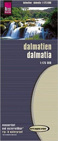 Buy map Dalmatia by Reise Know-How Verlag