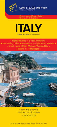 Buy map Italy by Cartographia