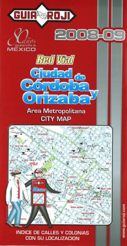 Buy map Cordoba and Orizaba, Mexico by Guia Roji
