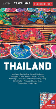 Buy map Thailand, Travel Map by New Holland Publishers